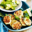 Healthy Food Recipes - Corn and Chive Fritters
